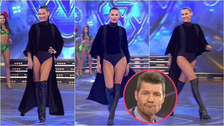 El look súper sexy de Pampita en el Bailando