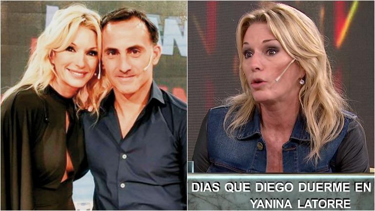 Yanina Latorre habló de su relación con Diego Latorre en Este es el show: