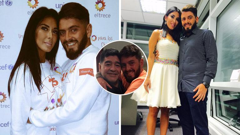 Diego Maradona Junior confirmó que espera un bebé junto a Nunzia Pennino