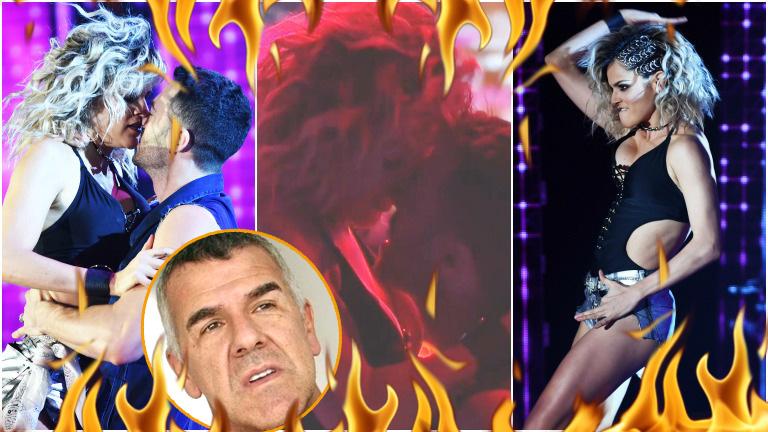 La Chipi cautivó con su regaettón romántico súper hot en Bailando 2017
