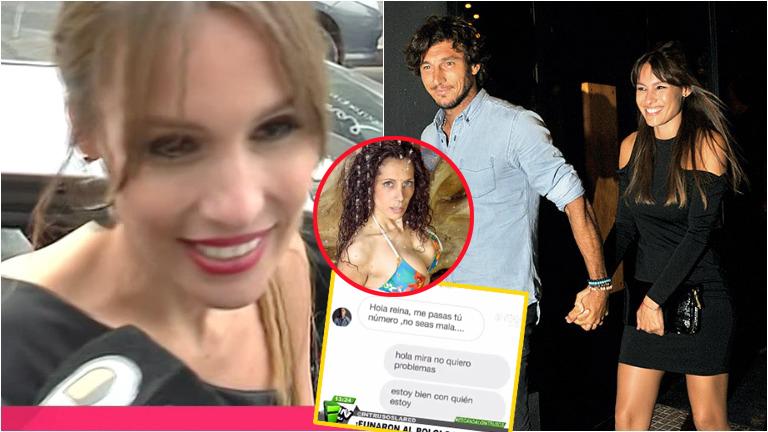 Pampita habló sobre el rumor de una supuesta infidelidad de Pico Mónaco: