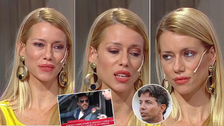 Nicole volvió a negar affaire con Pablo Cosentino y apuntó contra la prensa