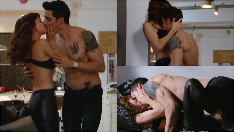 La escena hot de Celeste Cid y Esteban Lamothe en Las Estrellas