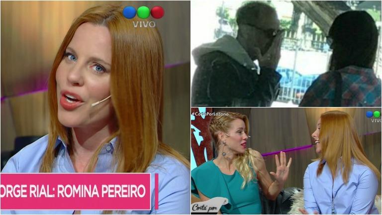 Agustina Kämpfer habló sobre Jorge Rial y su nueva novia, Romina Pereiro
