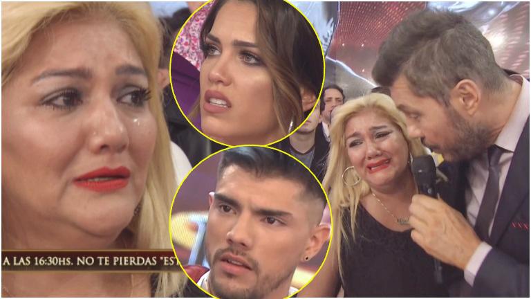El llanto de Gladys La Bomba Tucumana tras cruzarse con Rocío Robles en ShowMatch