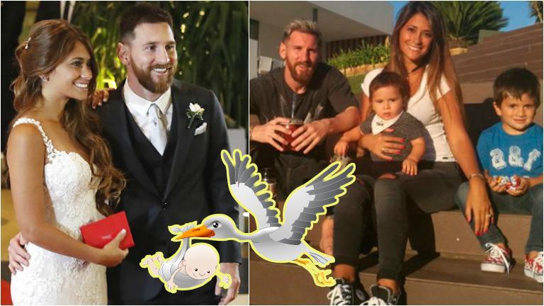 Lionel Messi y Antonella Roccuzzo, en la dulce espera de su tercer hijo