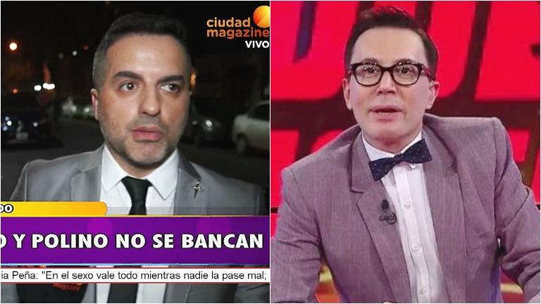 Ángel de Brito, filoso en BDV con Marcelo Polino: