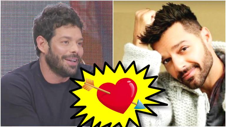 Mariano Caprarola, el panelista de La Jaula de la Moda, confesó que tuvo un romance con Ricky Martin