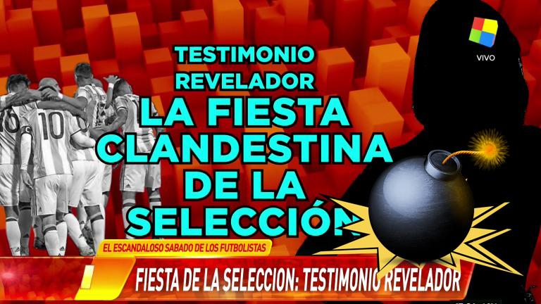 El escandaloso audio de una supuesta fiesta sexual de los jugadores de la Selección Argentina