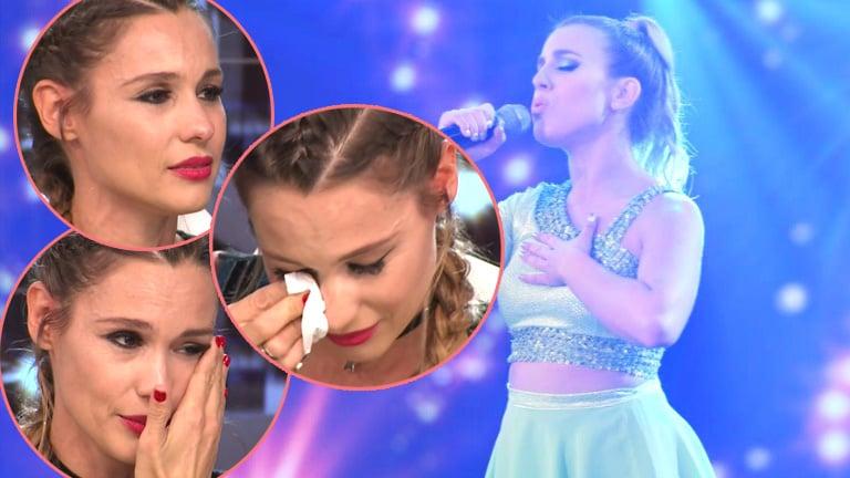 La emoción de Pampita tras escuchar cantar a Laura Esquivel en el Bailando