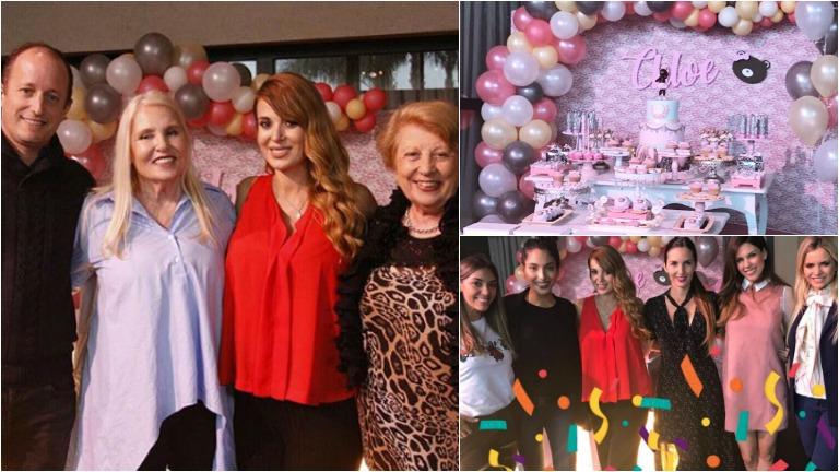 Las exquisiteces del baby shower de la hija de Jésica Cirio