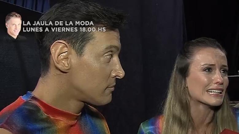 Melina Lezcano en su peor momento