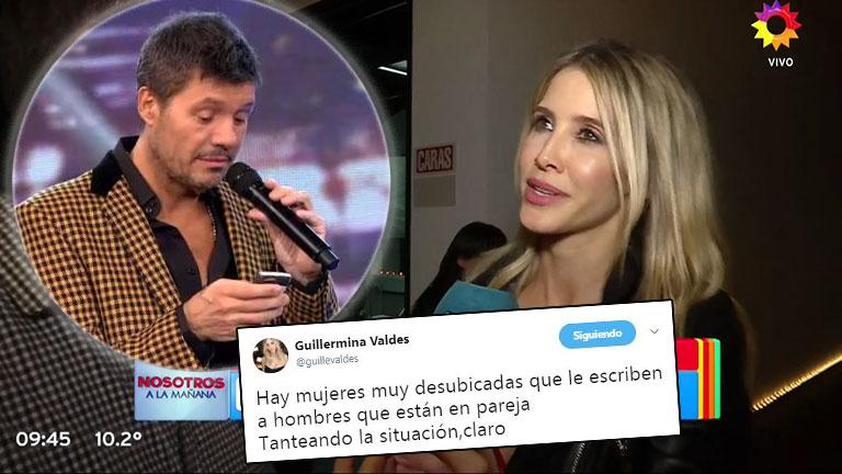 Guillermina Valdés habló de su escandaloso tweet sobre ¿una propuesta hot que le llegó a Tinelli?