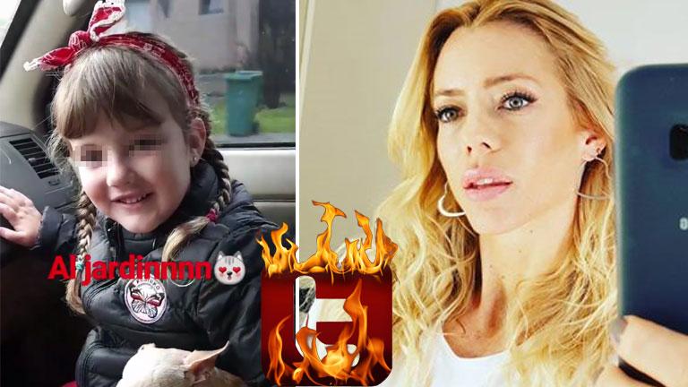 El video de Nicole Neumann junto a su hija en un auto sin el cinturó nde seguridad
