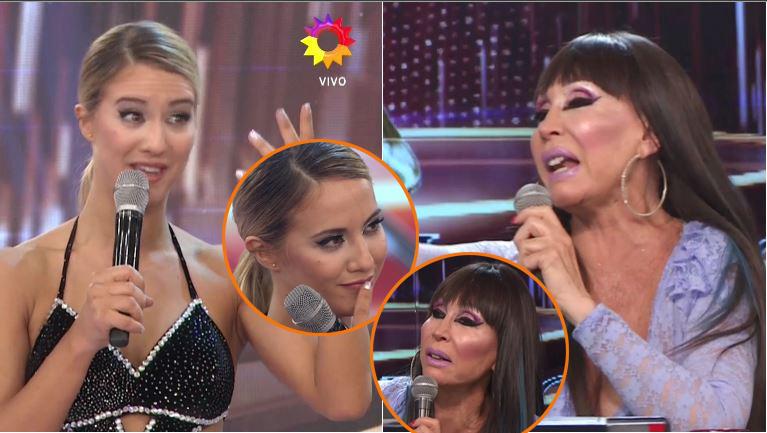 El durísimo cortocircuito de Moria Casán con Flor Vigna en Bailando 2017