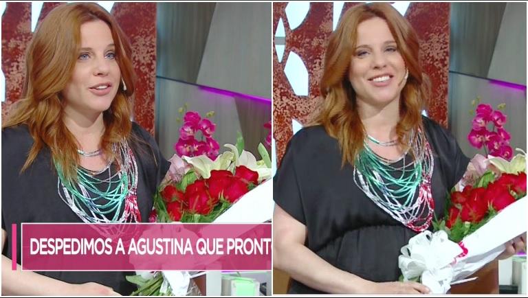 Agustina Kämpfer se despidió de Cortá por Lozano y habló de cómo vive estos días previo a parir