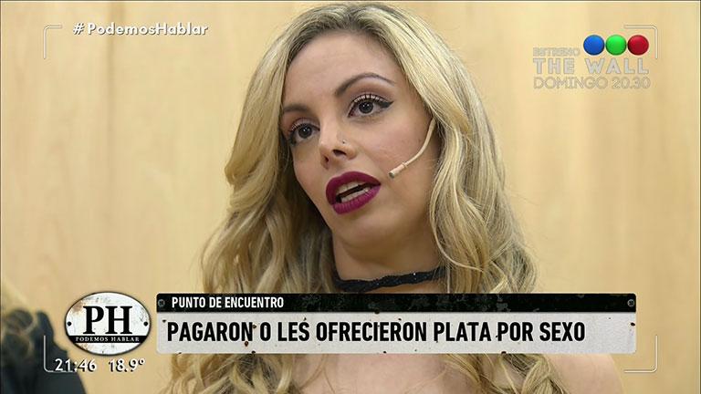 Gisela Bernal reveló que un colega le ofreció plata por sexo