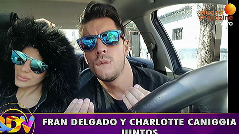 Rumor de affaire entre Charlotte Caniggia y Francisco Delgado