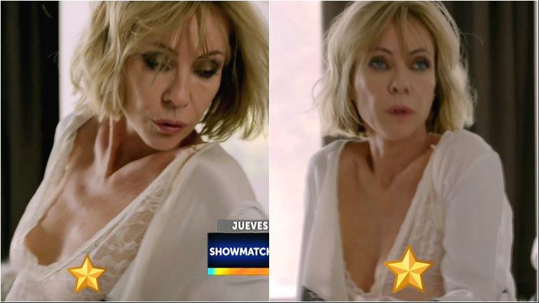 Inés Estevez peló lomazo y se mostró súper sexy con un body con transparencias en El Maestro