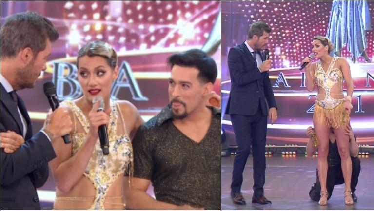 La cábala hot de Mica Viciconte en su debut en el Bailando con Jorge Moliniers
