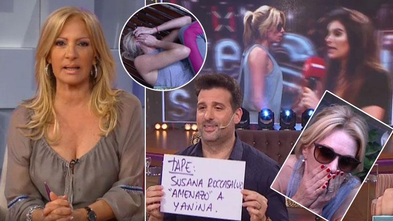 Yanina Latorre se fue en vivo de Este es el Show tras escuchar una amenaza de Susana Roccasalvo