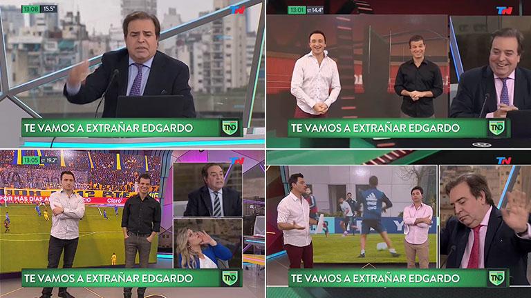 Edgardo Antoñana: el homenaje de TN Deportivo al periodista