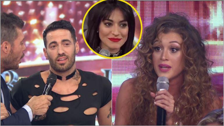 Anita Izaguirre, picante con Mauro Caiazza, el bailarín de Chipi: