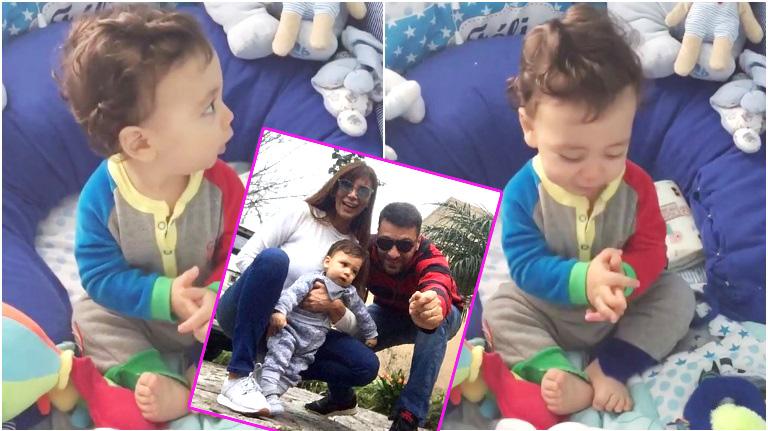 El tierno video del hijo de Ximena Capristo y Gustavo Conti aplaudiendo