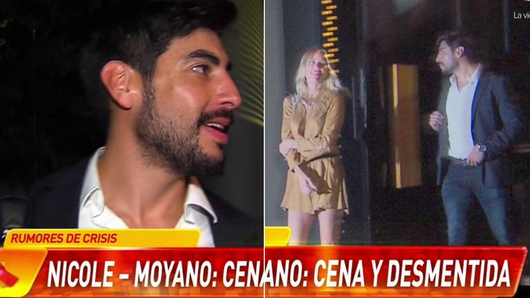 La pícara respuesta de Facundo Moyano cuando le preguntaron si estaba enamorado de Nicole Neumann