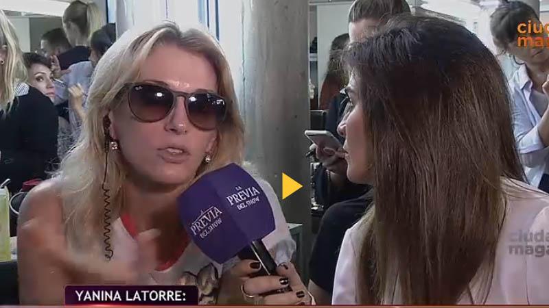 Yanina Latorre furiosa con La Bomba y emocionada con Nancy Pazos