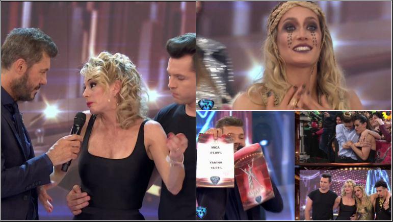 Mica Viciconte arrasó en el teléfono y eliminó a Yanina Latorre de Bailando 2017