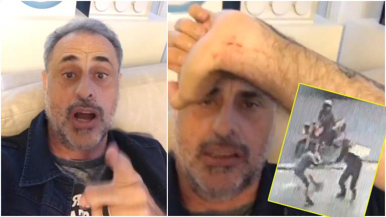 El descargo de Jorge Rial tras ser asaltado por motochorros a la salida de Intrusos