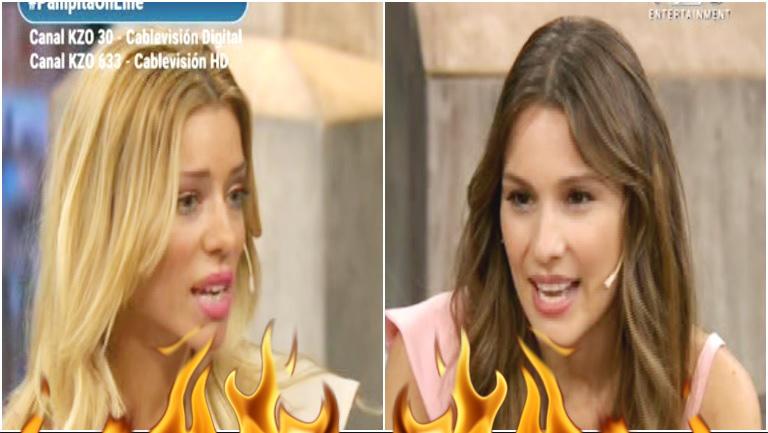 El video completo del cara a cara de Pampita con Nicole Neumann en vivo