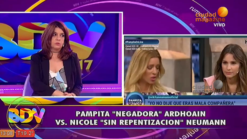 Pampita y Nicole, la grieta declarada