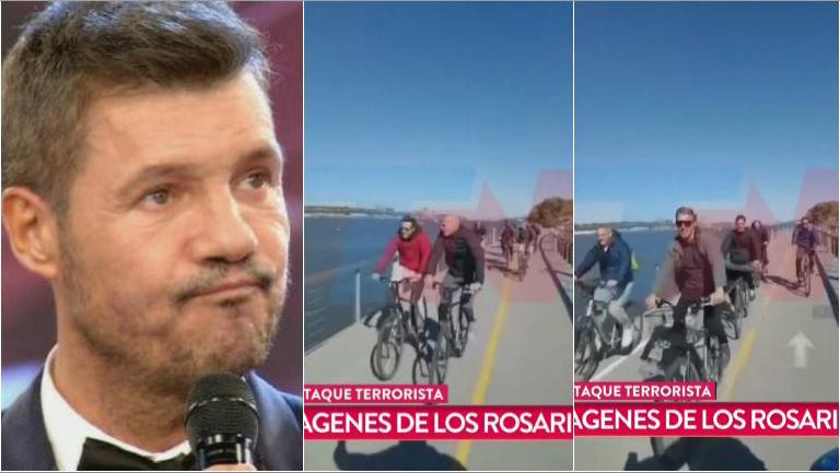 Tinelli, conmovido por el video de los exegresados argentinos antes de ser asesinados en Nueva York