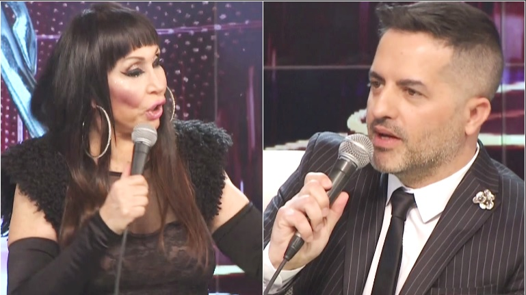 La propuesta teatral de Moria Casán a Ángel de Brito en el vivo de ShowMatch