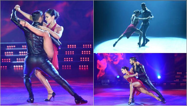 Lourdes Sánchez y Gabo Usandivaras se lucieron con un tango en ShowMatch que se llevó el puntaje más alto