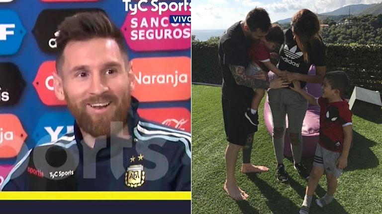 Lionel Messi ya piensa en el cuarto hijo: