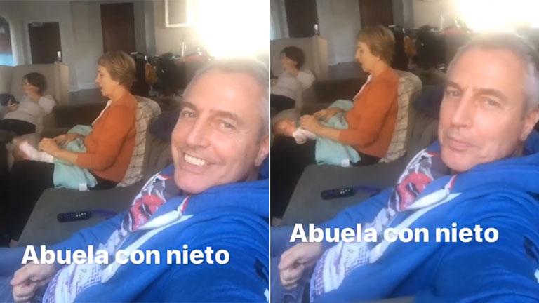 El tierno video de la mamá de Marley conociendo a Mirko