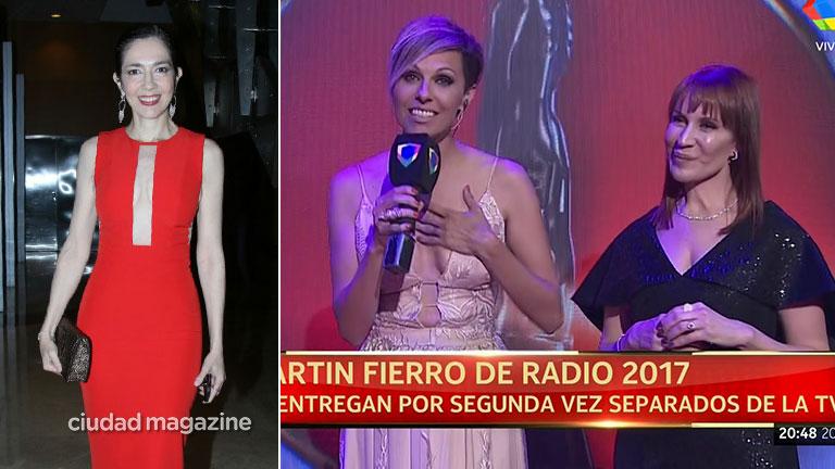 ¿Las más sexy? Cristina Pérez, look súper sensual en los Martín Fierro de Radio 2017
