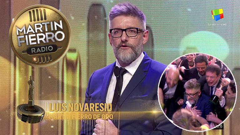Luis Novaresio ganó el Martín Fierro de Oro de Radio 2017