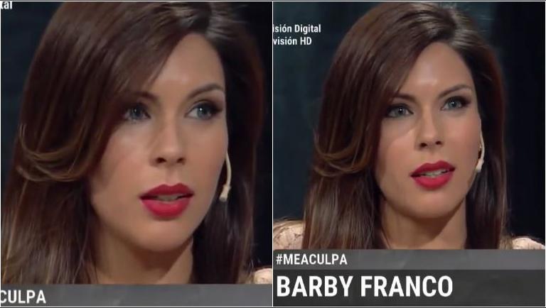 El duro relato de Barby Franco: