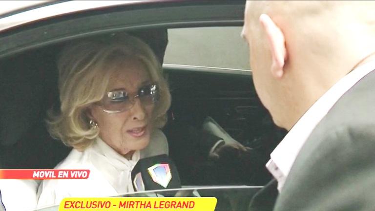 Mirtha Legrand habló de su percance en la ruta que le impidió llegar a Mar del Plata