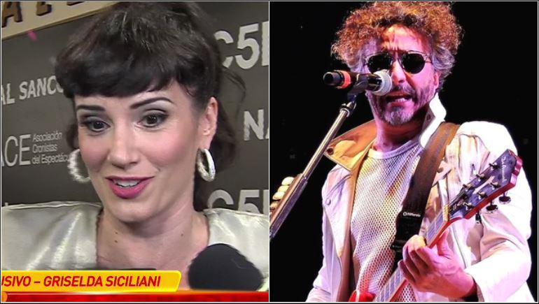 Griselda Siciliani se refirió al rumor de romance con Fito Páez: