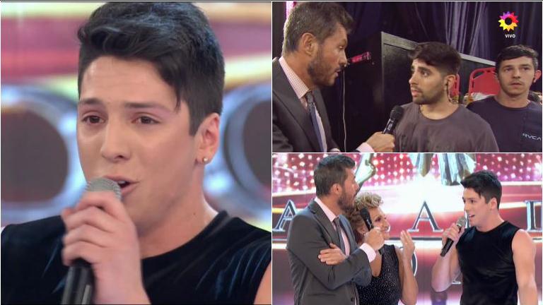 Agustín Reyero se enojó en el Bailando al ser acusado de tener aires de divo