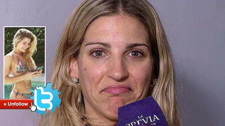 La peculiar respuesta de Maca Rinaldi cuando le avisaron que Laurita Fernández 'dejó de seguirla' en Twitter
