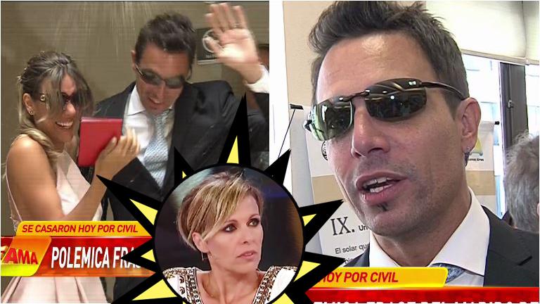 La filosa frase de Rodrigo Fernández Prieto tras casarse con Floppy Tesouro: