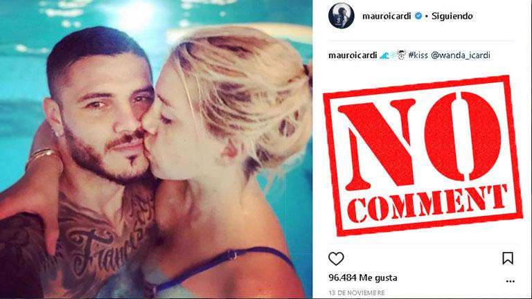 Mauro Icardi explicó por qué tiene bloqueados los comentarios en Instagram