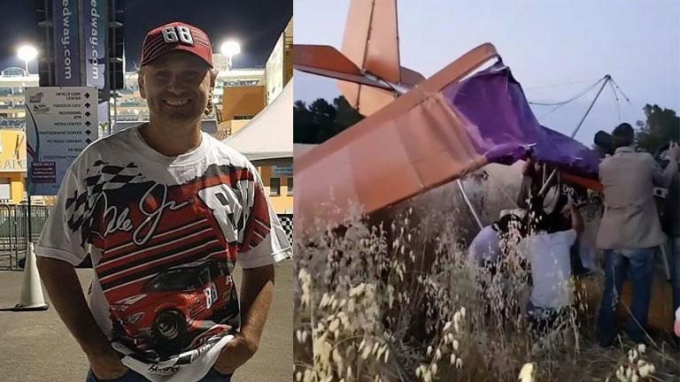 El video del accidente aéreo de Marcos Di Palma