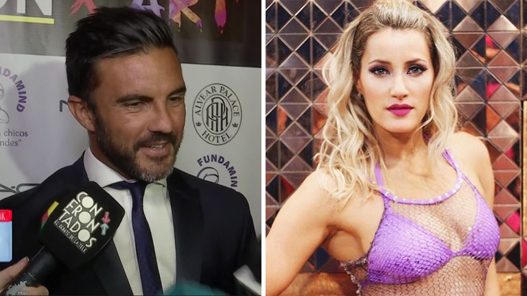 Fabián Cubero y su relación con Micaela Viciconte: